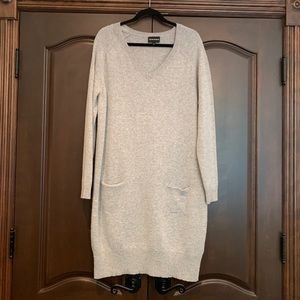 Emperio Armani Long Knitted Dress